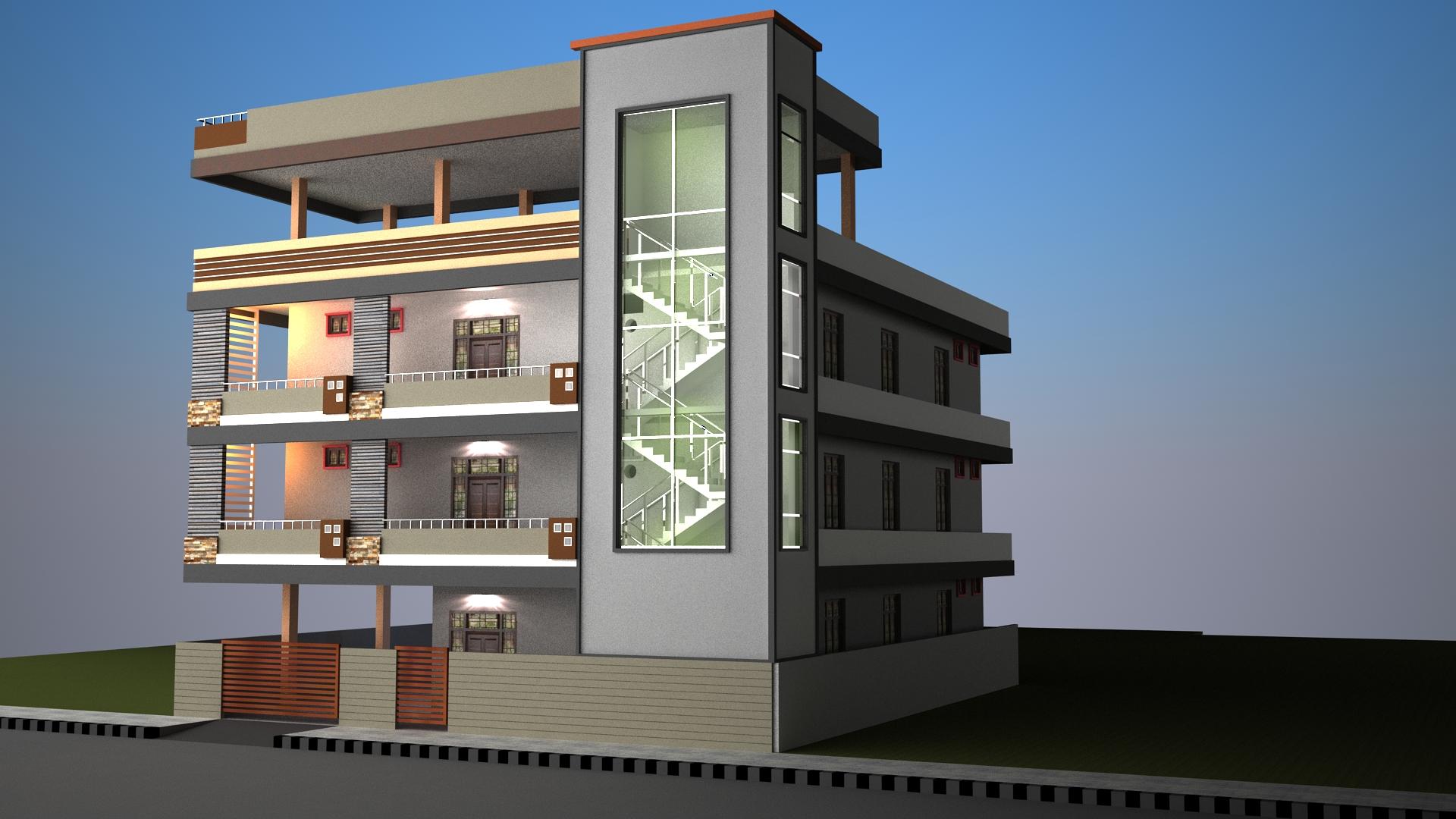 3d exterior designs kr eco solutions for 3d exterior design